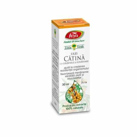 Ulei De Catina Cu Galbenele Si Sunatoare, 30 ml FARES