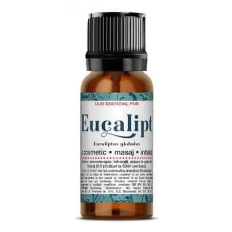 EUCALIPT- ulei esenţial 100% natural 10ml SANTO RAPHAEL