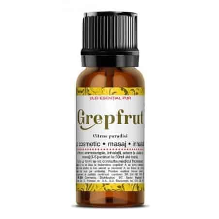 GRAPEFRUIT - ulei esenţial 100% natural 10ml SANTO RAPHAEL