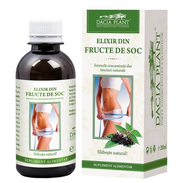 Remediu Elixir Soc pt Slabit 200ml DACIA PLANT
