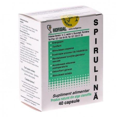 Spirulina 500Mg-40cps HOFIGAL