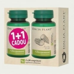 Glicemonorm 60cpr 1+1 GRATIS DACIA PLANT