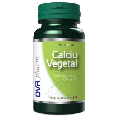Calciu vegetal 60 cps Dvr Pharm