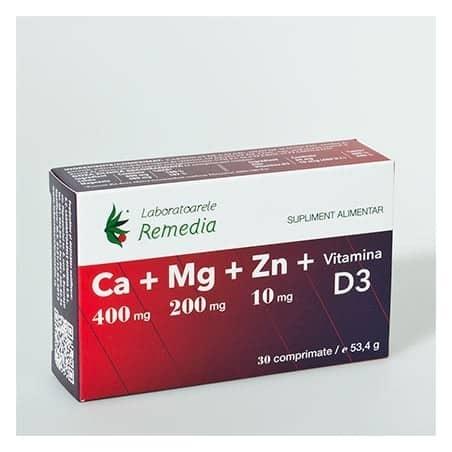 CA MG ZN D3 3bls x 10cpr LAB.REMEDIA