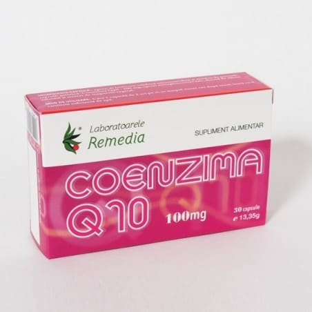 COENZIMA Q10 100mg 3bls x 10cps LAB. REMEDIA