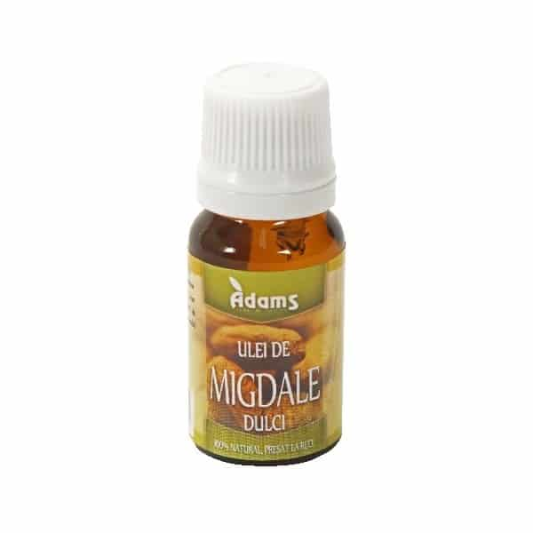 Ulei Migdale dulci 10ml (presat la rece) Adams Vision