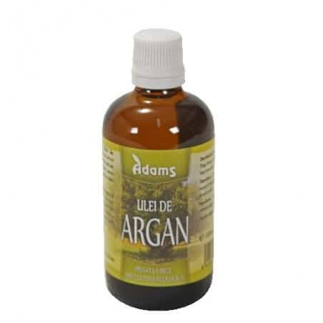 Ulei Argan Bio deodorizat 100ml (presat la rece) Adams Vision