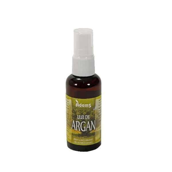 Ulei Argan Bio deodorizat 50ml (presat la rece) Adams Vision
