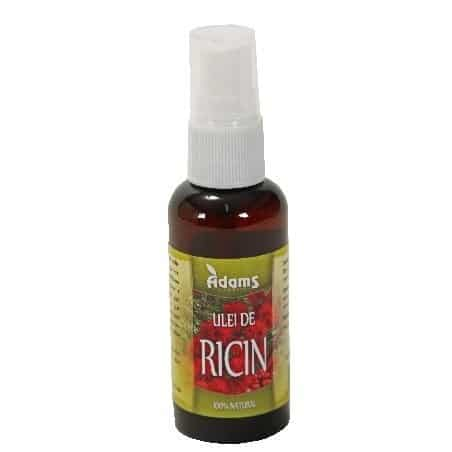 Ulei de Ricin 50ml (calitate farma) Adams Vision