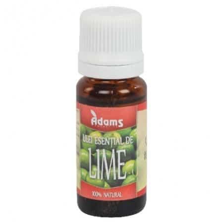 Ulei esential de Lime 10ml Adams Vision