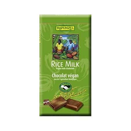 Ciocolata Vegana cu Lapte de Orez 100g Rapunzel