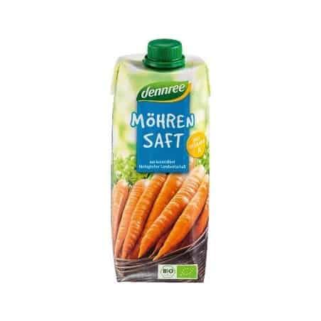 Suc de Morcovi Vegan 500ml Dennree