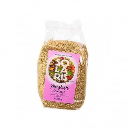 Condiment-mustar seminte 300gr SOLARIS