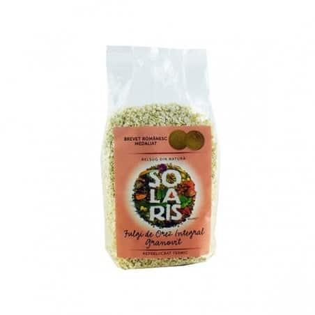 Fulgi de orez integral granovit 400gr SOLARIS