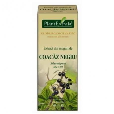 Extract din muguri de coacaz negru 50 MLPlantextrakt