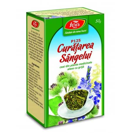 Ceai Curatarea Sangelui, punga a 50 gr FARES
