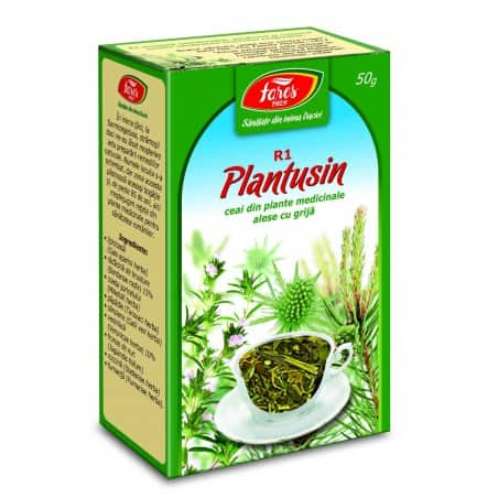 Ceai Plantusin, punga a 50 gr FARES
