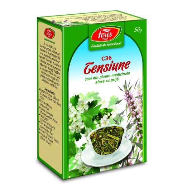 Ceai Tensiune, punga a 50 gr FARES
