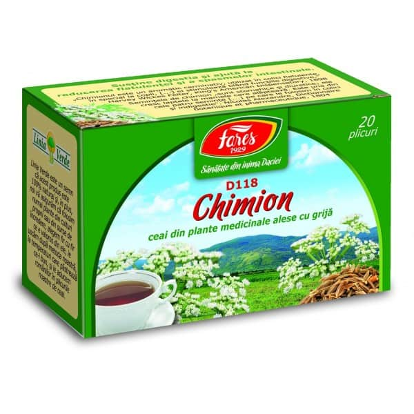 Ceai Chimion, 20 pliculete FARES