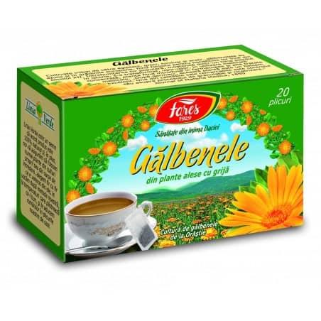 Ceai Galbenele, 20 pliculete FARES