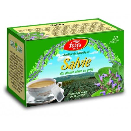 Ceai Salvie, 20 pliculete FARES