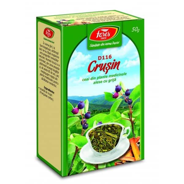 Ceai Crusin – Scoarta, punga a 50 gr FARES