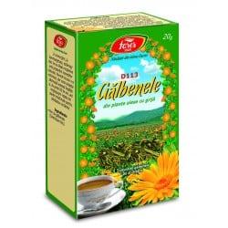 Ceai Galbenele – Flori, punga a 20 gr FARES