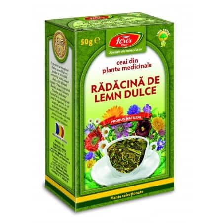 Ceai Lemn Dulce – Radacina, punga a 50 gr FARES