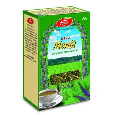 Ceai Menta – Iarba, punga a 50 gr FARES