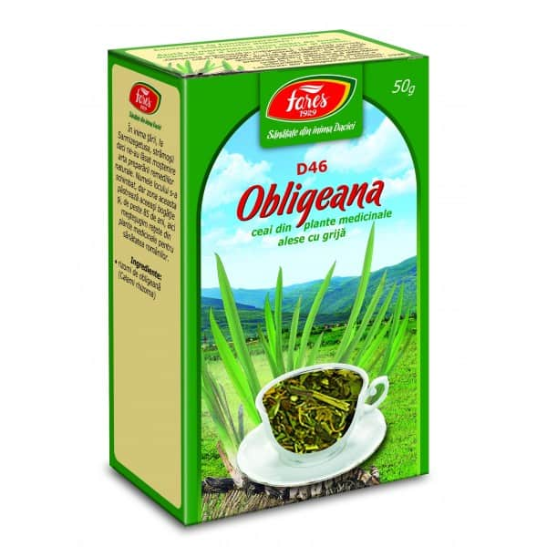 Ceai Obligeana – Radacina, punga a 50 gr FARES