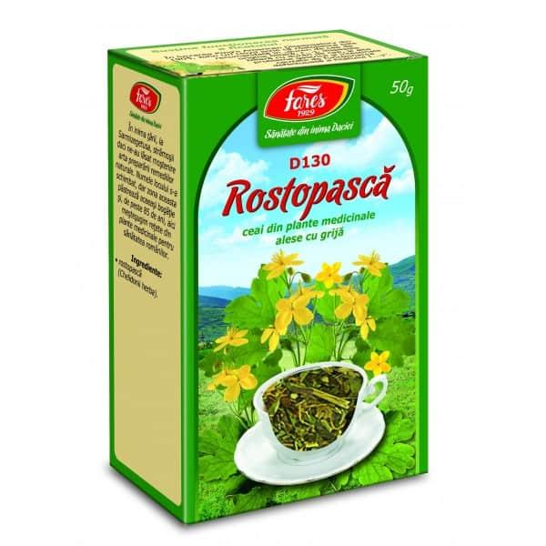 Ceai Rostopasca – Iarba, punga a 50 gr FARES