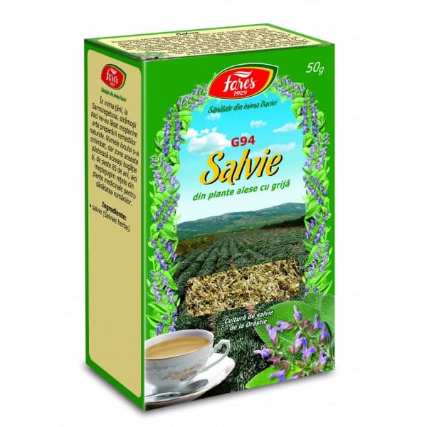Ceai Lavanda, 20 pliculete FARES