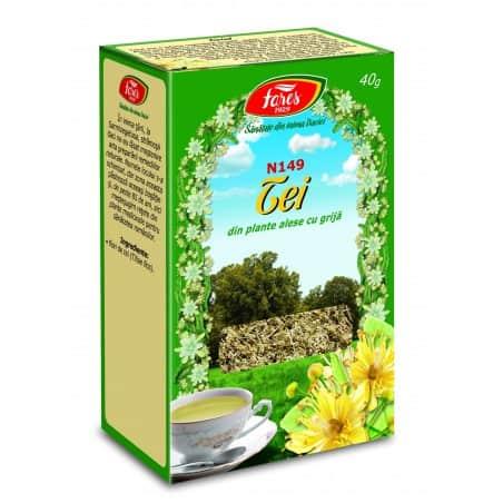 Ceai Tei – Flori, punga a 40 gr FARES