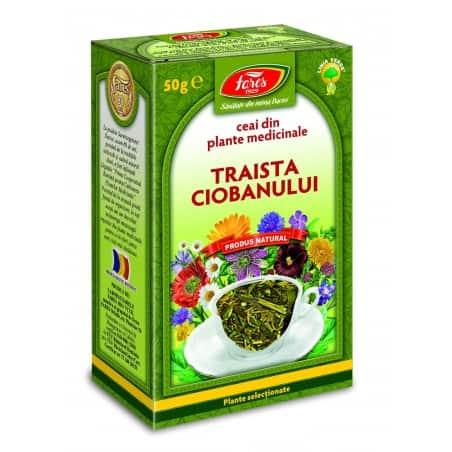Ceai Traista Ciobanului – Iarba, punga a 50 gr FARES