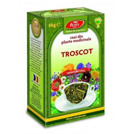 Ceai Troscot – Iarba, punga a 50 gr FARES