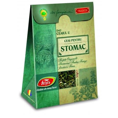 Ceaiul U—Ceai Pentru Stomac, punga a 50 gr FARES