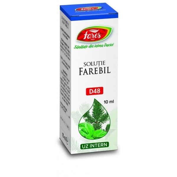 Ceai Marar – Fructe, punga a 50 gr FARES