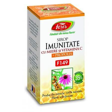 Imunitate Cu Miere Si Propolis, 100 ml FARES