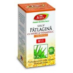 Patlagina Cu Miere Si Propolis, 100 ml FARES