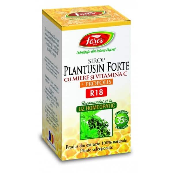 Plantusin Forte Cu Miere Si Propolis, 100 ml FARES