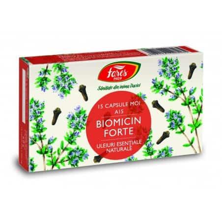 Biomicin Forte, 15 capsule moi FARES
