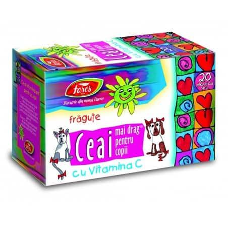 Ceai Fragute, cu Vitamina C 20 pliculete cu snur FARES