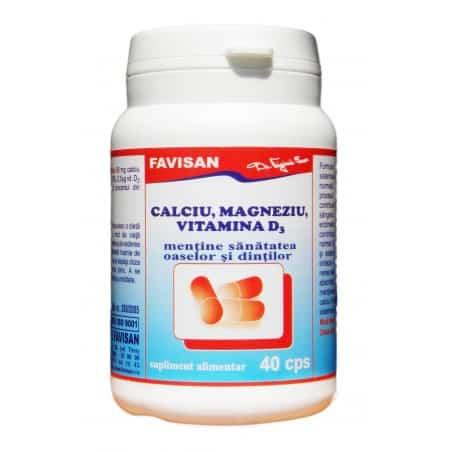 Ca, Mg, D3 40cps FAVISAN