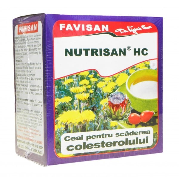 Ceai Nutrisan HC 50g FAVISAN