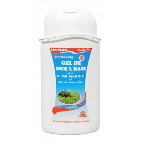 Favibeauty-Gel De Dus & Baie Cu Alge Marine 300ml FAVISAN