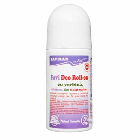 Favideo Roll-On Cu Verbina 50ml FAVISAN