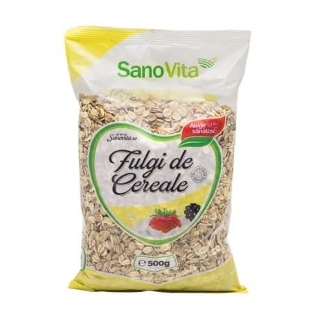 Fulgi de cereale 500g Sanovita