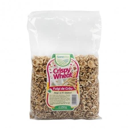 Crispy - Fulgi de grâu 250g Sanovita