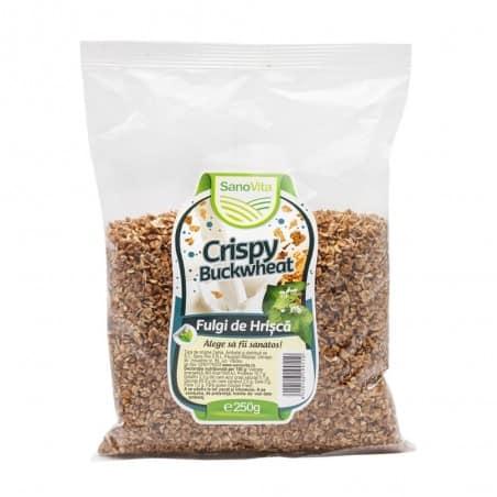 Crispy - Fulgi de hrișcă 250g Sanovita