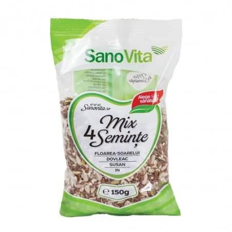 Mix 4 semințe 150g Sanovita
